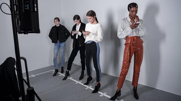fashion model for websites