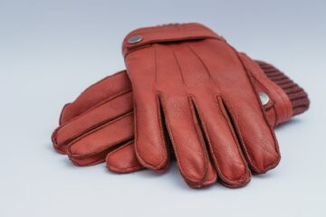 leather construction gloves