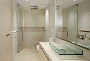 clean your frameless shower enclosure